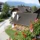 Haus Primosch - Aussicht vom Balkon Richtung Karawanken