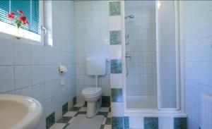 Haus Primosch - Badezimmer in der Ferienwohnung für 2-3 Personen