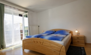 Haus Primosch - Schlafzimmer _ Ferienwohnung für 4-5 Personen