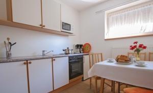 Haus Primosch - Küche in der Ferienwohnung