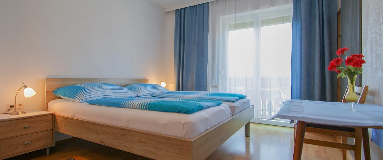 Haus Primosch - Ferienwohnung groß_Schlafzimmer