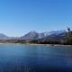 Aussicht auf die Drau und Berge in Selkach - mit dem Rad oder Auto super und schnell zu erreichen; schöner Spazierweg